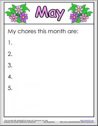 months printable worksheets page 1 abcteach