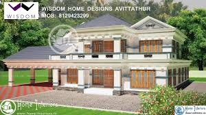 3506 sq ft kerala new style home design