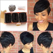 27 pcs short hair weave 27 pieces weave hairstyles short hairstyles ideas pinterest
