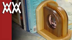wood picture frame bookends youtube