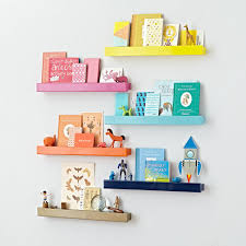 Wall Bookshelves For Nursery by Kids Shelves U0026 Wall Cubbies The Land Of Nod