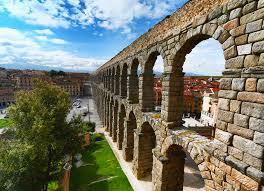 segovia roman aqueduct a certain slant of light photography