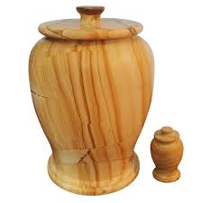 urn for ashes teak marble funeral cremation urn for ashes with matching keepsake