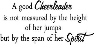 cheerleading quotes and best sayings photo niceimages org