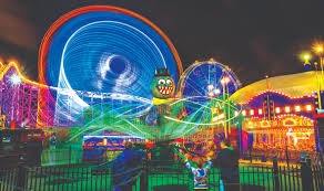luna dark halloween at luna park melbourne by lucy graham