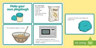 printable playdough recipes playdough quick recipe cards playdough playdough recipe