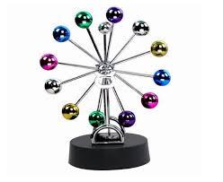 Executive Desk Toy 2017 Bojin Planet Kinetic Mobile Desk Toy Electronic Perpetual