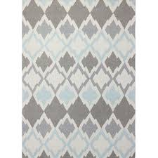 Gray Blue Area Rug Tufted Light Ivory Grey Area Rug