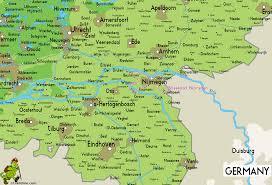 Holland Map Nijmegen Netherlands Pictures Citiestips Com