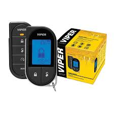 viper lcd 2 way security remote start system