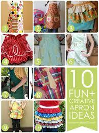 apron ideas 10 simple diy apron tutorials somewhat simple