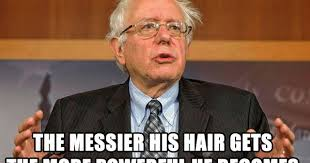 Hair Meme - political memes bernie sanders hair meme video