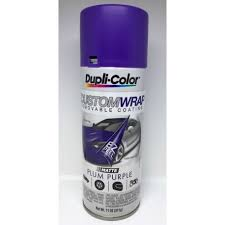 duplicolor custom wrap matte plum purple 11oz automotive paint