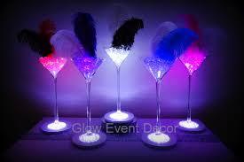 Large Martini Glass Centerpieces by Rose Gold Votive Candle Holders Wedding Ideas Magazine Wedding