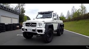 mercedes 6 wheel pickup this mercedes g63 amg 6x6 clone is really a suzuki jimny