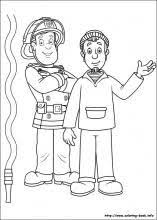 fireman sam coloring pages coloring book fire fighter