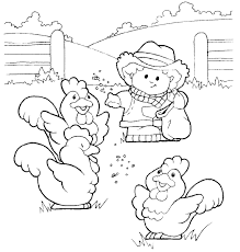 New Farm Coloring Pages 41 With Additional Free Colouring Pages Farm Color Page