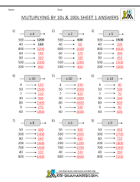 Multiplication By Two Digits Worksheets Captivating Ma14fact L1 W Looking For Multiples 752x1065 Jpg Math