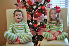 the francis family christmas pajama party