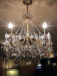 Vintage Crystal Chandeliers Vintage Crystal Chandelier For Sale U2013 Eimat Co