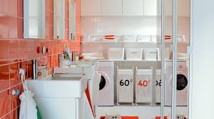 space saving laundry hamper stunning ikea laundry room for small space ideas mdpagans