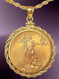 coin necklace gold images 25 dollar gold eagle coin necklace nrr8 25e 24c8 jpg