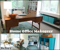 Contact Paper Desk Makeover Another Home Office Makeover Green And Blue Heartworkorg Com