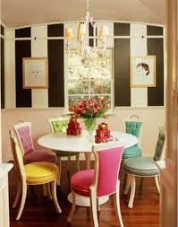 Different Color Dining Room Chairs Colorful Kitchen Ideas Luxuryresorts Biz