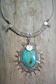 opal stone silver necklace images 950 silver necklace with peruvian opal stone jpg