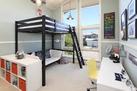 great full size loft bed with desk underneath decorating ideas