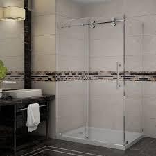 23 Inch Shower Door Aston Langham 48 In X 35 In X 77 1 2 In Completely Frameless