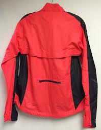mtb rain jacket cannondale women u0027s morphis cycling rain jacket windproof coral