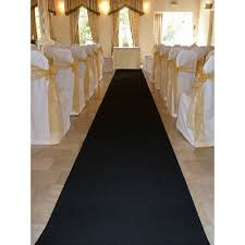 aisle runners for weddings awesome black wedding aisle runner