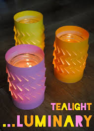 How To Make Paper Light Lanterns - 12 ways to use tea lights teas lights and project ideas