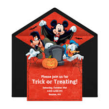 a vampire mickey halloween disney family