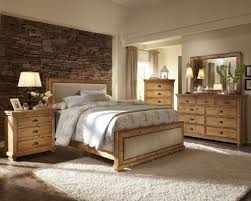 bedroom decorating ideas with pine furniture interior design