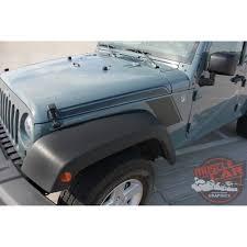 matte olive jeep wrangler jeep wrangler rundown hood to fender side body vinyl graphics