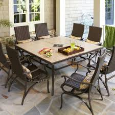 Patio Dining Set by Hampton Bay Model Hd14216 Pembrey 9 Piece Patio Dining Set With