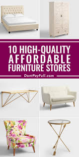 affordable furniture stores to save money 10 cheap furniture stores that don t sacrifice quality cheap