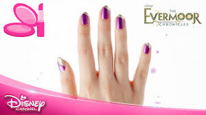 the evermoor chronicles nail art tutorial bella official