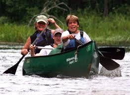 Namekagon River Map Namekagon River Canoe Wilderness Inquiry