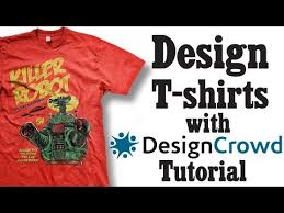 designcrowd tutorial how to design t shirts with designcrowd youtube