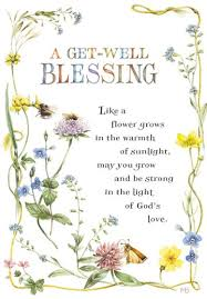 marjolein bastin floral religious get well card greeting cards