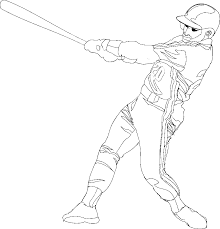 modest baseball coloring pages cool colorings 825 unknown
