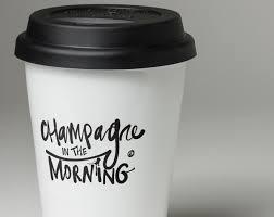 mug vs cup chagne in the morning travel mug