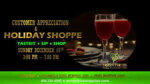 holiday cocktails png tasteitparties client appreciation and holiday shoppe tickets sun