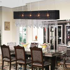Chandeliers For Dining Room Contemporary Beautiful Rectangular Chandelier Dining Room