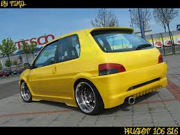 peugeot yellow peugeot 106 s16 by timil on deviantart