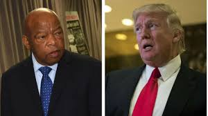 trump rips john lewis worry about your crime infested district