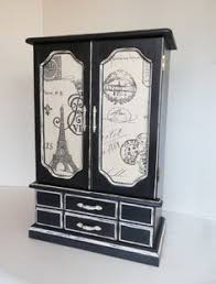Paris Themed Jewelry Box A Personal Favorite From My Shop Https Www Com Ca